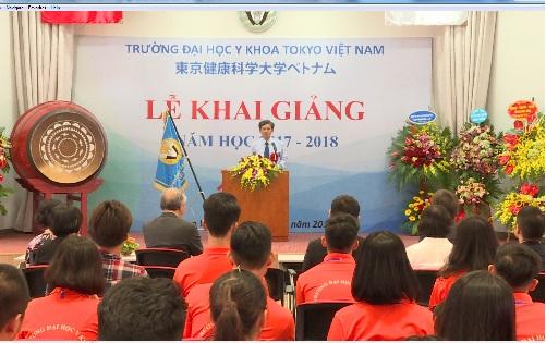 Tokyo Human Health Sciences University Vietnam held the
